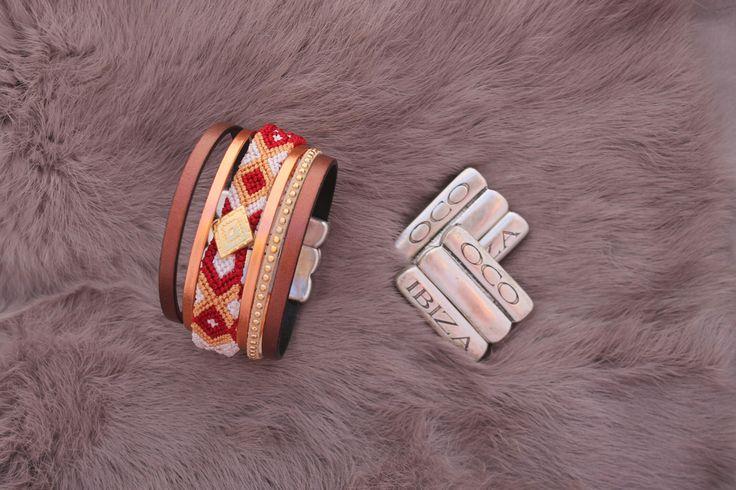 Handmade bracelet - OCO Ibiza - One of a kind - Order yours by WhatsApp: 0034 667 640 713 - 59€ -