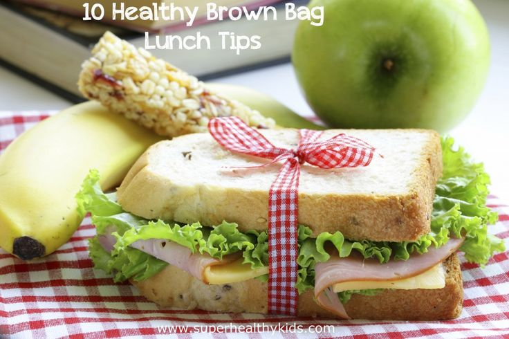 10 Healthy Brown Bag Lunch Tips - You can not miss tip #1- it will save you YEARS of headaches! http://www.superhealthykids.com/10-healthy-brown-bag-lunch-tips/