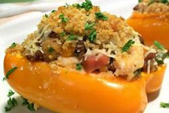 New Orleans Stuffed Bell Peppers Recipe