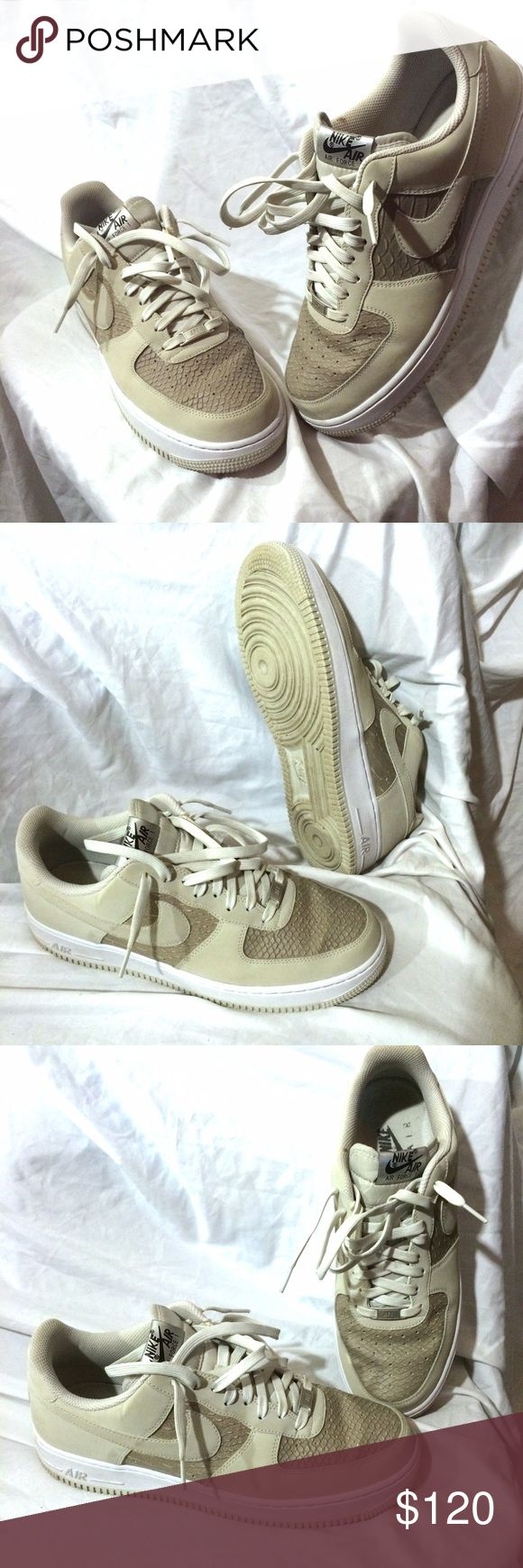 EXCLUSIVE!!! NIKE Air Force Ones Shoes are in EXCELLENT CONDITION!!! GREAT DEAL!!! Nike Shoes Athletic Shoes