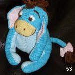 burro Igor winnie the pooh amigurumi, donkey Igor winnie the pooh amigurumi