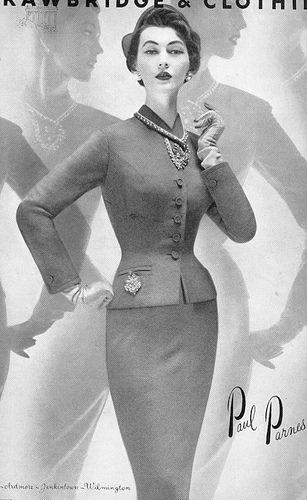 50's skirt suit by 50'sfan, via Flickr