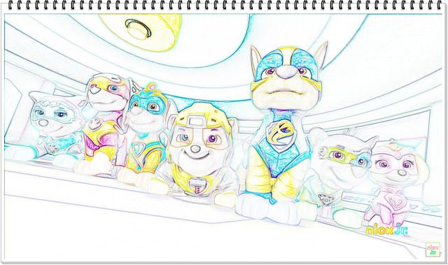 Paw Patrol Mighty Pups Die Super Hunde Sneak Peek Coloring Page Paw Patrol Coloring Paw Patrol Coloring Pages Coloring Pages