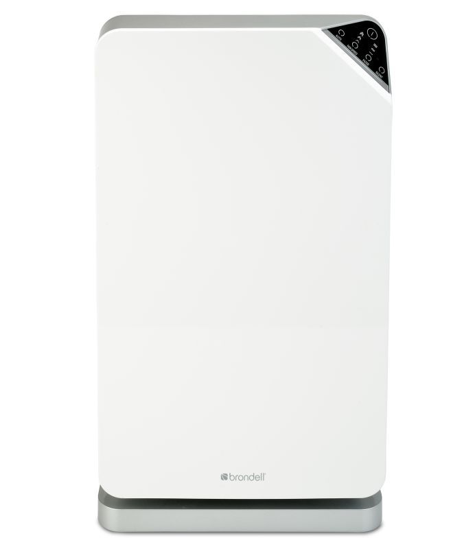 brondell p400 o2 balance advanced electronic led air purifier system with trueh white air filter electronic