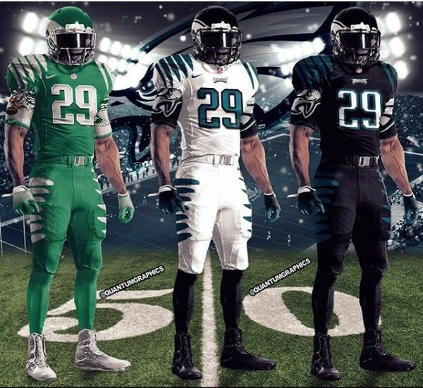 Philadelphia Eagles Concept Uniforms   PHILADELPHIA EAGLES ...