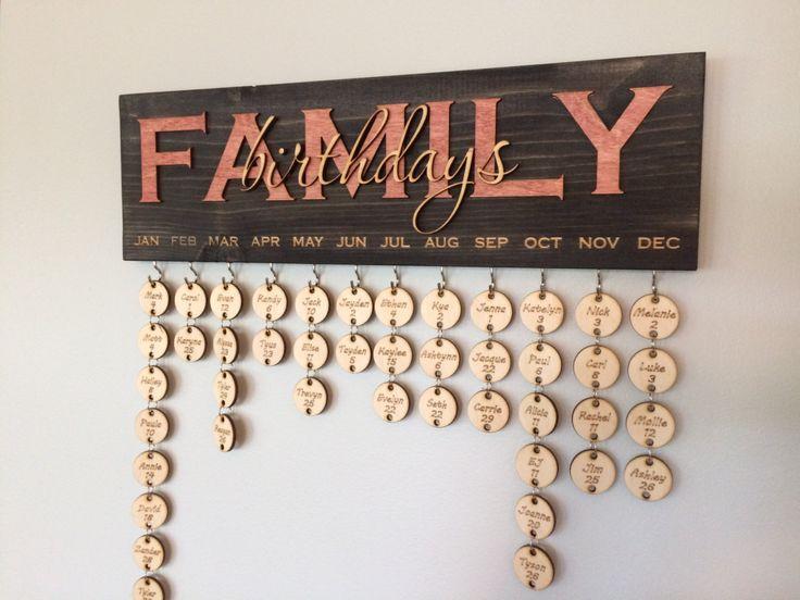 die besten 25 ideen zu familien geburtstagskalender auf pinterest familien geburtstags bord. Black Bedroom Furniture Sets. Home Design Ideas