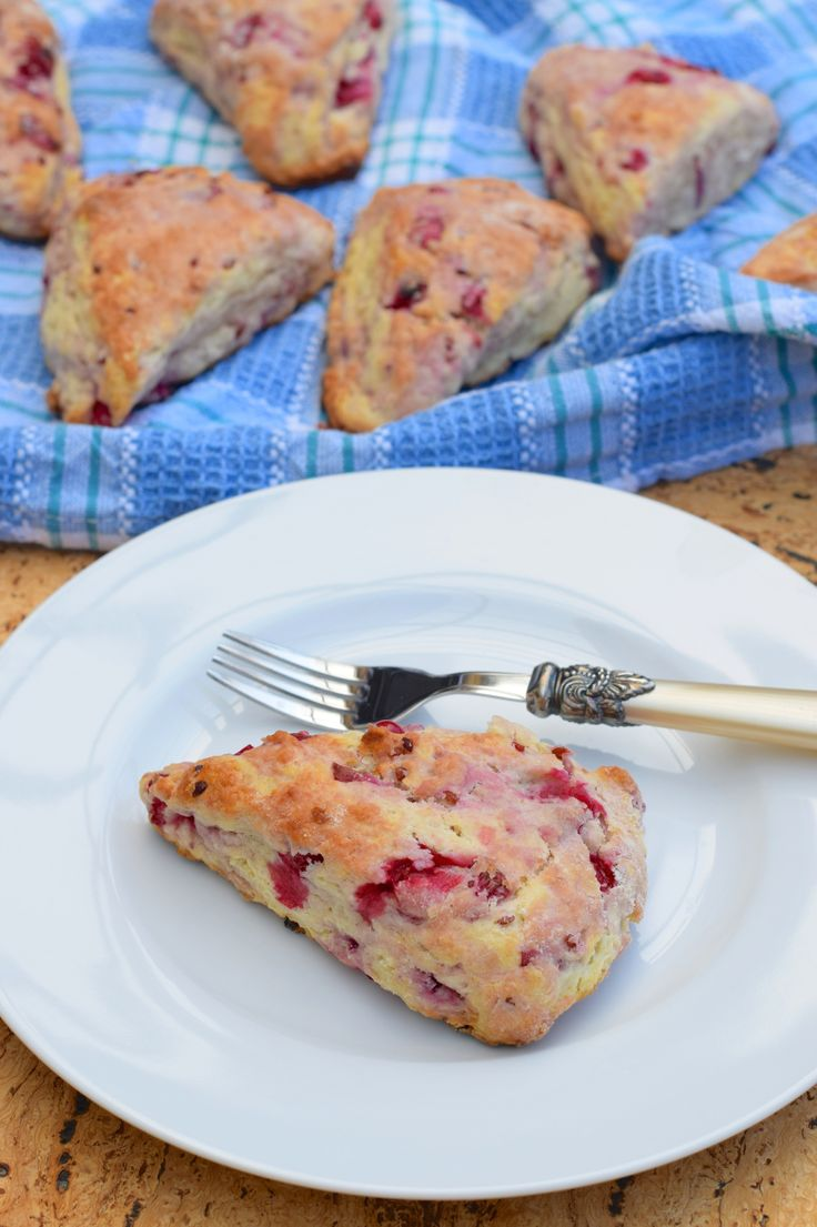 Fresh Red Currant Scones
