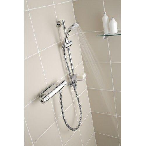 Alto Ecotherm shower controls.