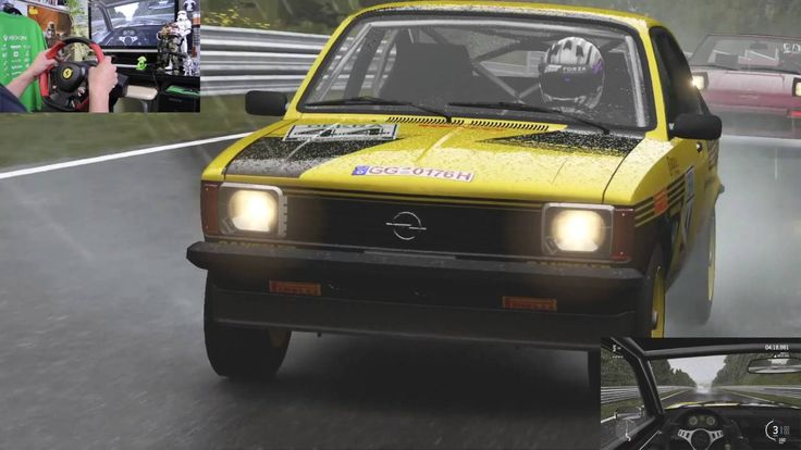 [37] XboxOne Forza 6 Racing Wheel Nürburgring  1979 Opel Kadett C GT/E  ...