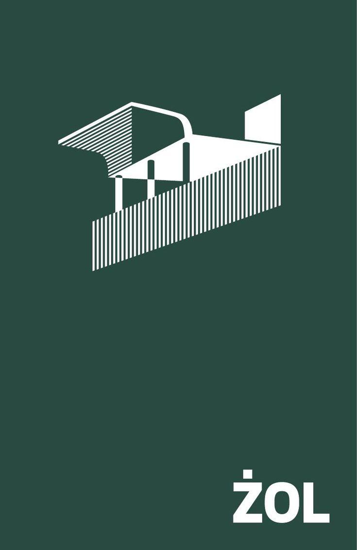"""Magdalena Piwowar (koncepcja i projekt graficzny), Michał Krasucki, Monika Powalisz (teksty) - """"ŻOL. Ilustrowany atlas architektury Żoliborza"""", wyd. Centrum Architektury, 2014"""
