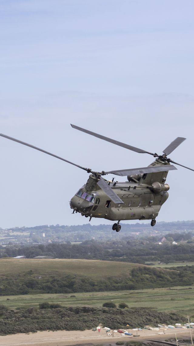 CH-47 Chinook, Boeing, military transport helicopter, US Army, U.S. Air Force