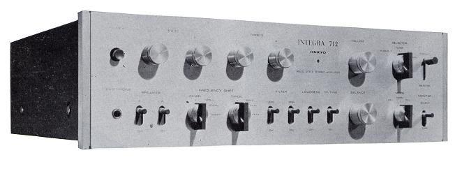 ONKYO Integra 712   1969