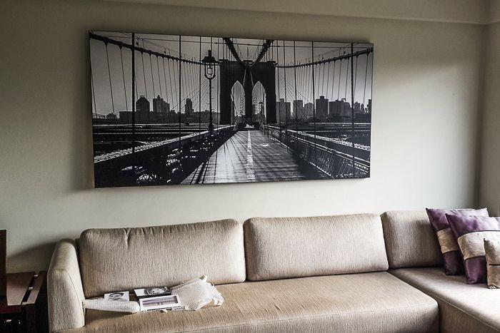 Foto en Bastidor. Puente NYC