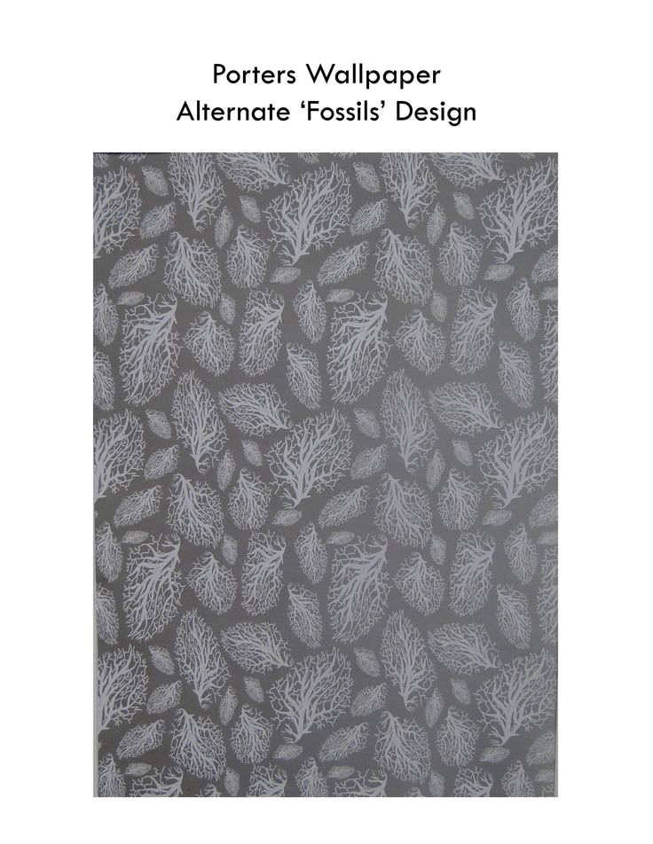 Porters Wallpaper Design winner 'Fossils'