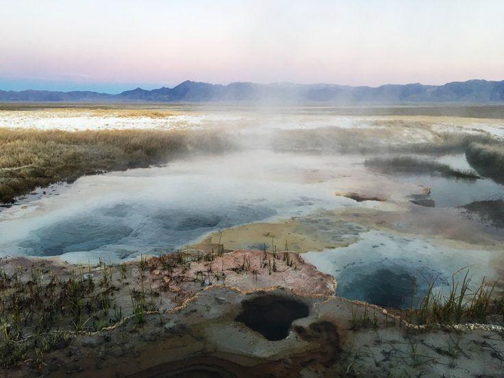 Nevada Hot Springs, Black Rock Desert.