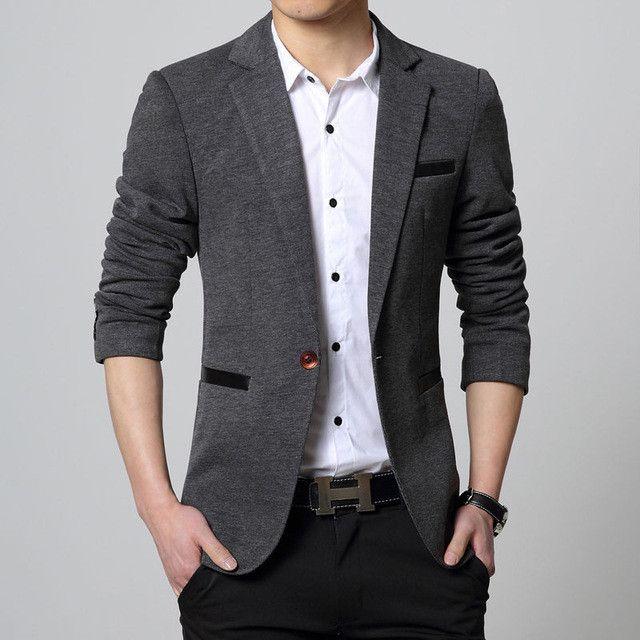 2017 new Mens casual slim fit Blazer men wedding dress blazer jacket mens red suit jacket manteau homme