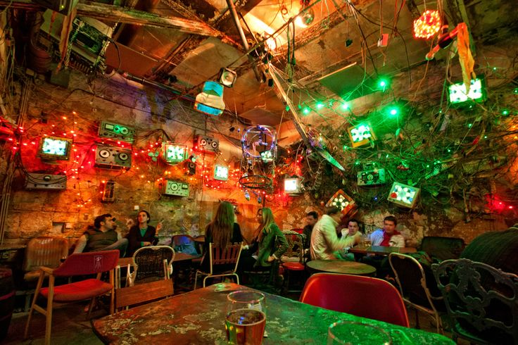 5 of the Best Bars/Pubs in Budapest