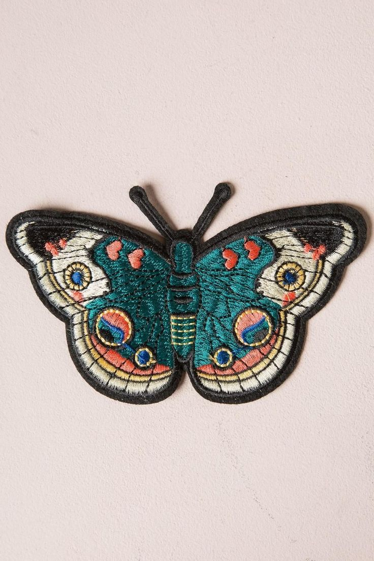 Butterfly Patch - #patches & #pins - Accessories from Brandy Melville. Saved to Accessories.