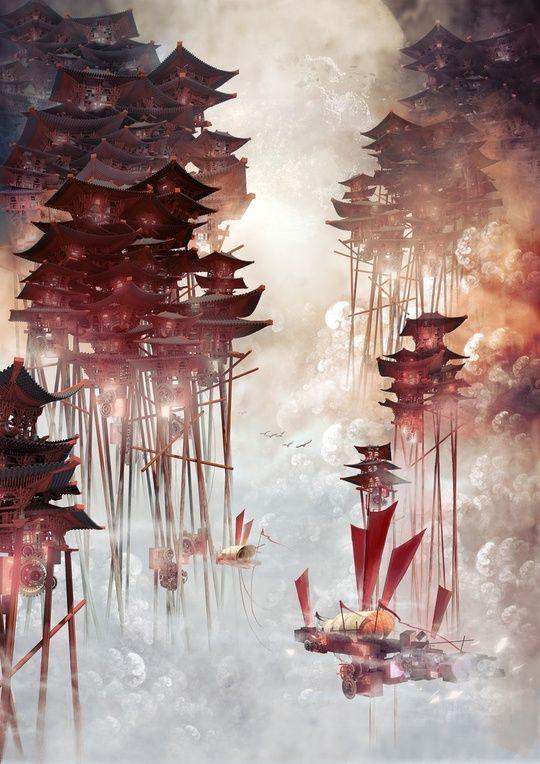 Moon Palace by Te Hu