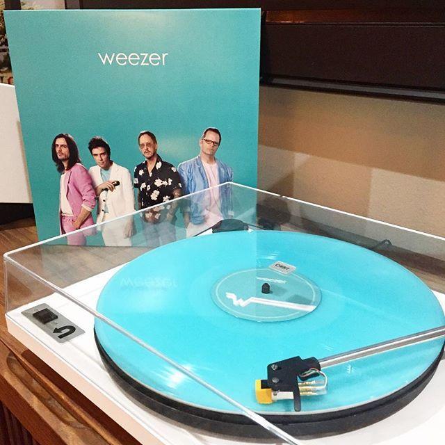 Weezer   Teal Album #Teal Vinyl   Music × Vinyl in 2019