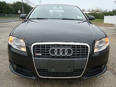 awesome 2008 Audi A4 S-Line 2.0T Quattro NAVI Theft Recovered Salvage - For Sale