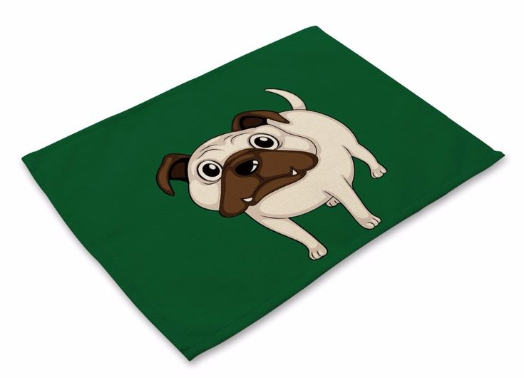 CAMMITEVER Fashion Creative Japan Style Animal Dog Table Napkin Dining Table Placemat Kitchen Tool Tableware Pad. Click visit to buy
