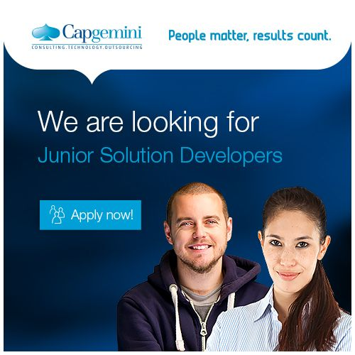 Capgemini is recruiting new talents to join their team in Espoo! Apply now! #work #career