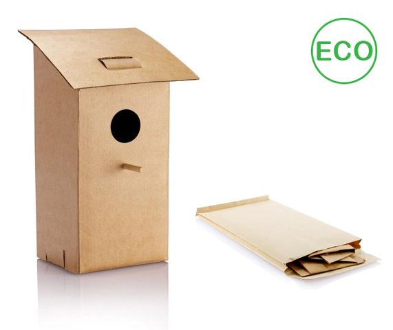 Nido plegable cartón.  Desde 1,78 Euros en www.areadifusion.com