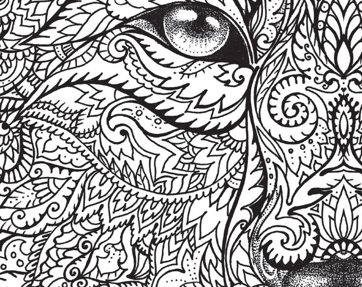 The Macmillan Jungle Book Colouring Free Wolf Pattern Download