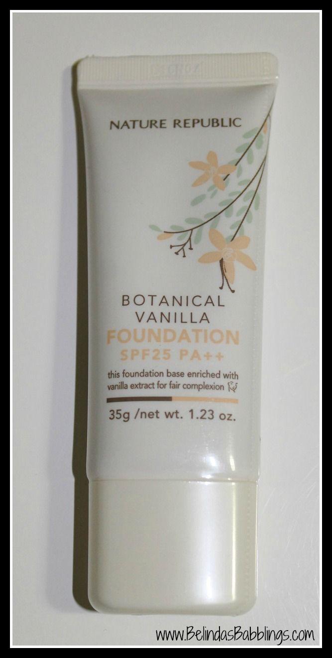 Nature Republic Botanical Vanilla Foundation