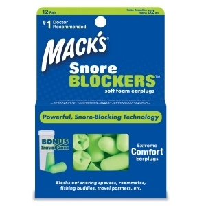 Snore Blockers ~ Powerful Soft foam Earplugs