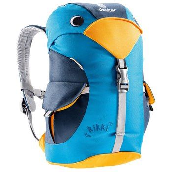 Available Summer 2013: Deuter  Kikki truly is a fun companion for the little ones in the kindergarten, on hikes or trips to the lake. With spacious main compartment and reflective details.