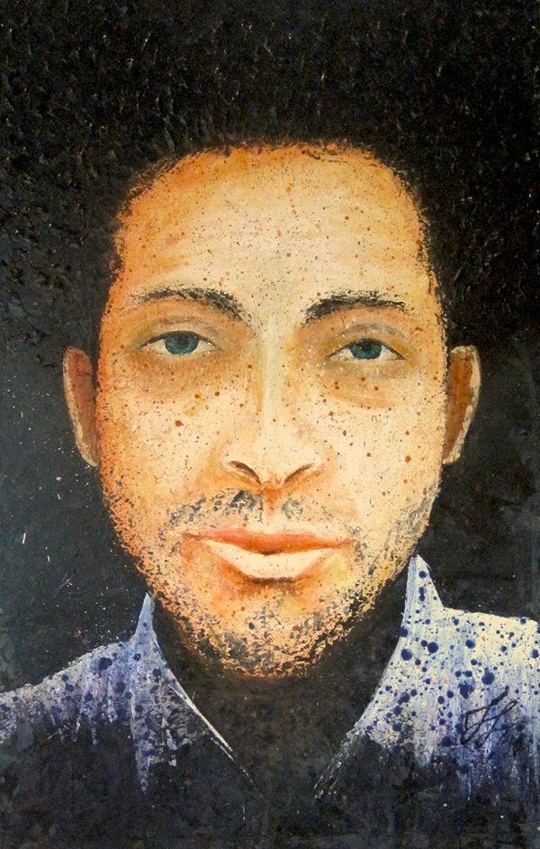 * * * F O R  S A L E * * *  'Patrick' · 50x90cm · acrylic on canvas · © Sander Van Stijn · 2011