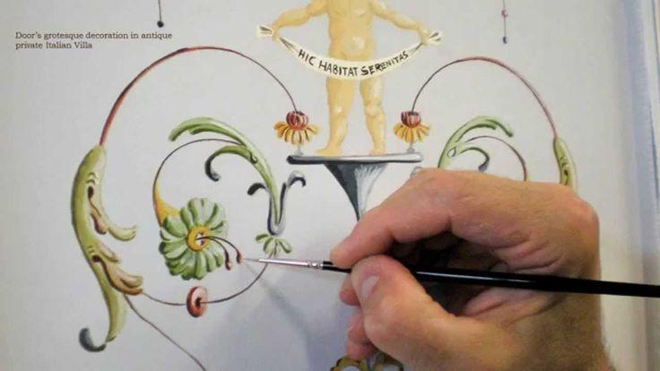 Doratura e Decorazione. Doratura a foglia, Imitazione di marmi, Decorazione murale, Mobili decorati. http://www.virgiliocontadini.com/home/index.cfm
