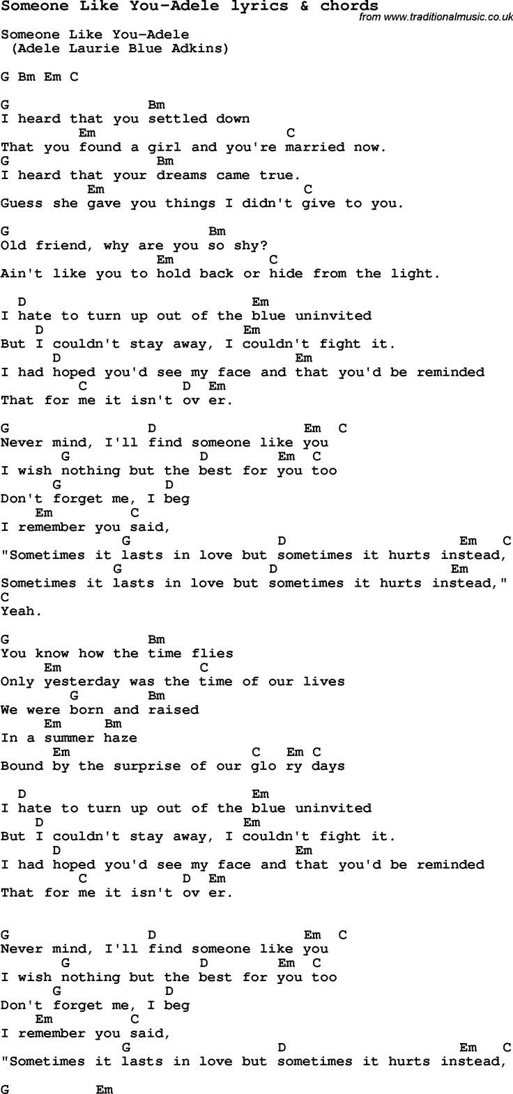 Best 25 riptide ukulele chords ideas on pinterest ukulele love song someone like you adele with chords and lyrics for ukulele guitar banjo and other instruments hexwebz Images