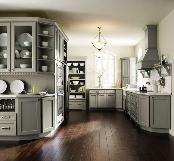 Grey Kitchen Units What Colour Walls: Introducing Homecrest Cabinetry's NEW Brenner Door Style