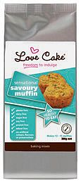 Introducing our new Love Cake Gluten and Dairy Free Savoury Muffin Mix