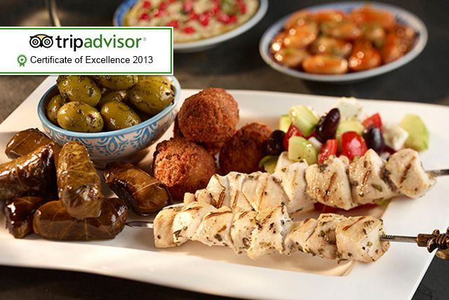 10-Course Mezze Dining & Wine for 2