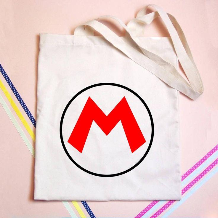 Mario Logo Tote bag - GOGOLFNW.COM
