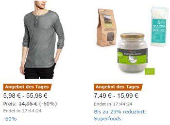 Amazon: Kleidung von Desires, Solid & Blend mit Rabatt https://www.discountfan.de/artikel/klamotten_&_schuhe/amazon-kleidung-von-desires-solid-blend-mit-rabatt.php Für einen Tag sind bei Amazon Jacken und Oberteile von Desires, Solid & Blend mit Rabatt zu haben. Insgesamt stehen 64 Produkte zur Auswahl, die Preise beginnen bei unter fünf Euro. Amazon: Kleidung von Desires, Solid & Blend mit Rabatt (Bild: Amazon.de) Die Jacken und Oberteile von D... #Jacke, #Obert