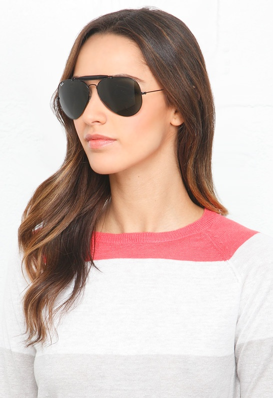 Ray-Ban Outdoorsman II Sunglasses in Black $150 | Back in ...