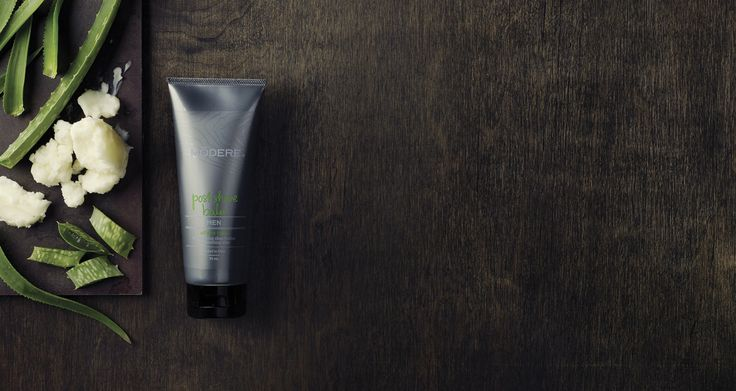 Men's Post Shave Balm Aloe vera, shea butter and Chinese skullcap team up to give you a smooth finish to your daily manscaping routine. Give yourself a little slap to be sure! #Modere #Code217887
