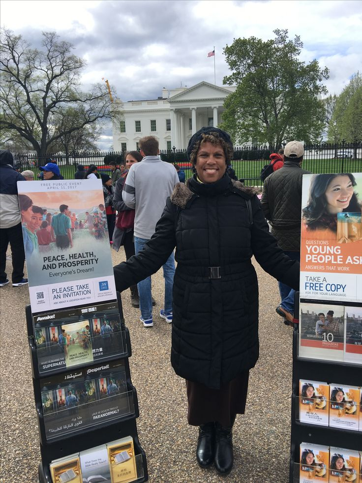 Special Metropolitan Public Witnessing at the White House in Washington, DC USA