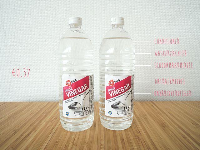 5 x handige toepassingen voor azijn