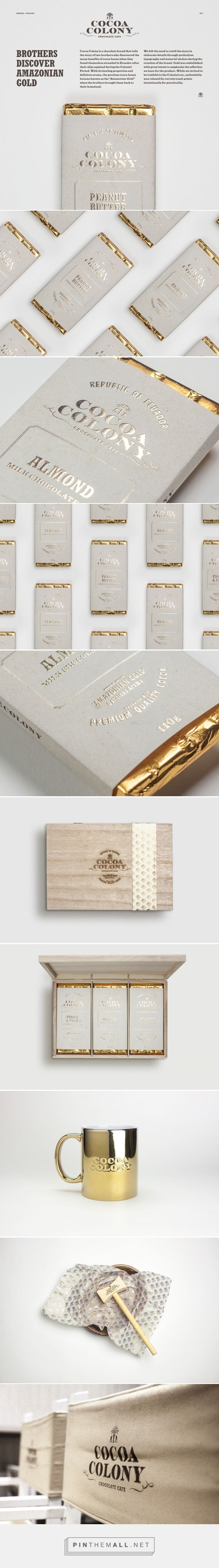 Cocoa Colony Chocolate Branding and Packaging by Bravo | Fivestar Branding Agency – Design and Branding Agency & Curated Inspiration Gallery