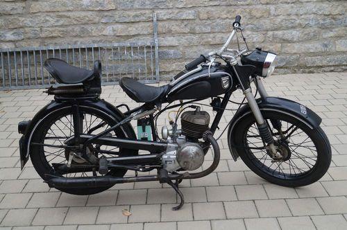 Oldtimer Motorrad Rixe 175 in Lauterhofen
