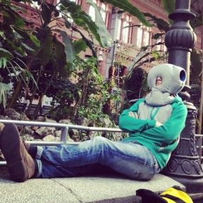 OstrichPillow - nap in public and look like a dork.