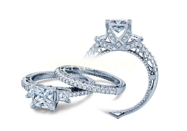 128 Best Verragio Images On Pinterest  Jewel, Wedding. Ice Wedding Rings. Brown Engagement Rings. Copy Engagement Rings. Luxurious Wedding Rings. Braided Engagement Rings. Black Magic Wedding Rings. Rosary Rings. Interesting Engagement Rings