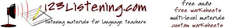 123Listening.com - Make Listen Tests and Listening Worksheets