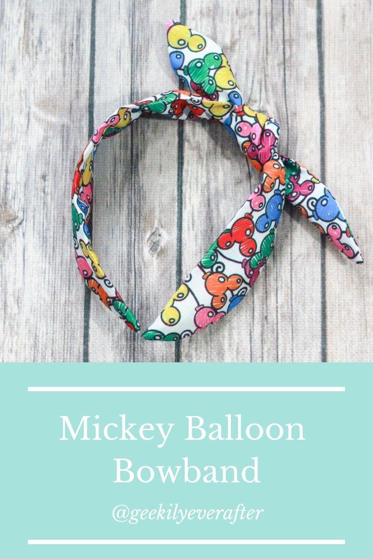 Mickey Balloons Bowband Disney Bowband Etsy Mickey Balloons Balloon Earrings Balloons